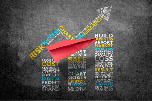 istock Business graph concept 806040648