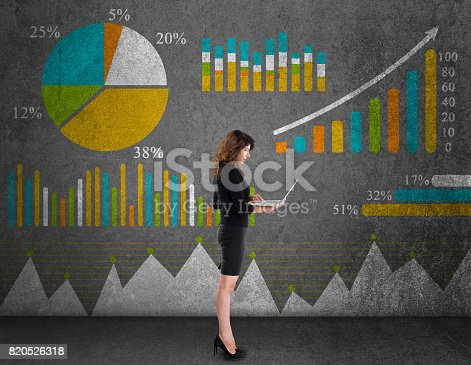 517703860istockphoto Business Graph Concept 820526318