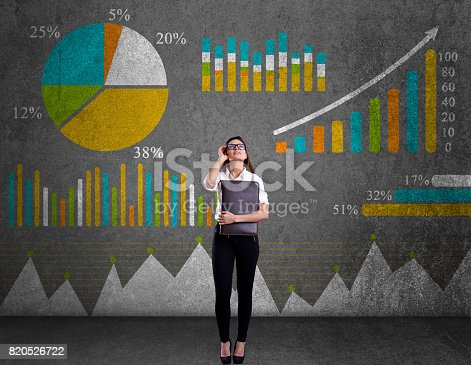 istock Business graph concept 820526722