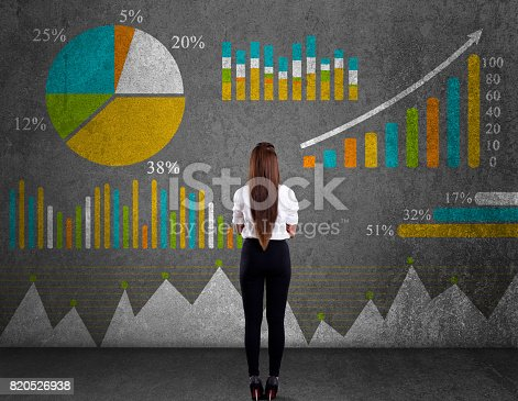 istock Business graph concept 820526938