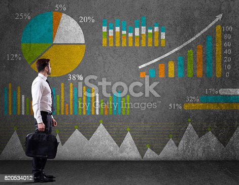istock Business graph concept 820534012