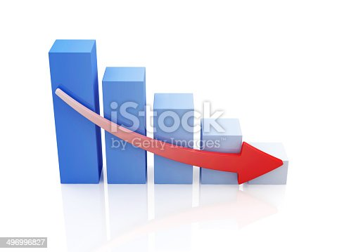 istock Business Graph Decline 496996827