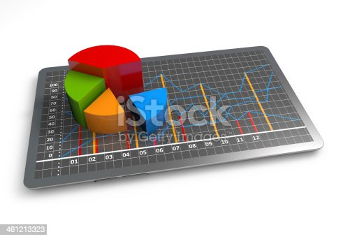 istock Business graph growth 461213323