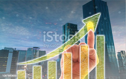1051659174istockphoto Business Graph on Touch Screen 1087883650