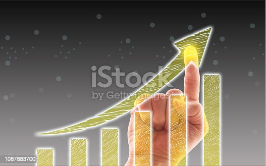 1051659174istockphoto Business Graph on Touch Screen 1087883700