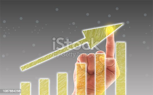 1051659174istockphoto Business Graph on Touch Screen 1087884258