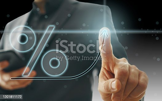 Business Graph on Touch Screen
