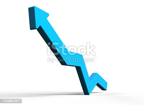 istock Business Graph 1249824977