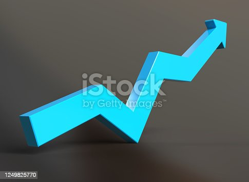 istock Business Graph 1249825770