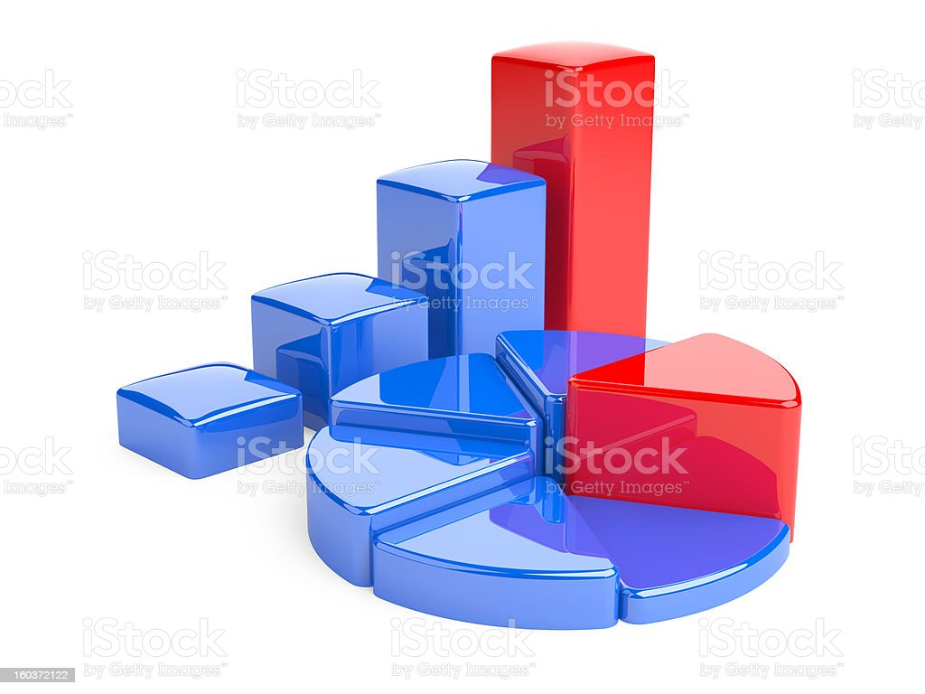 Business Graph. royalty-free stock photo