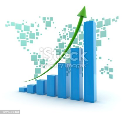 istock Business Graph 182436603
