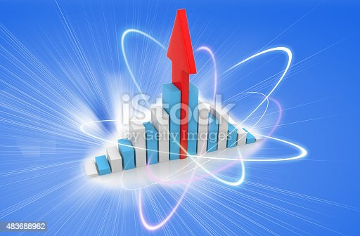 istock Business Graph 483688962