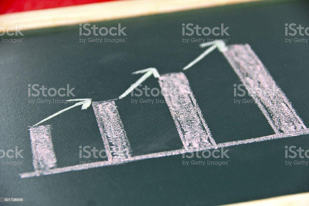 Business-Diagramm - Lizenzfrei Analysieren Stock-Foto