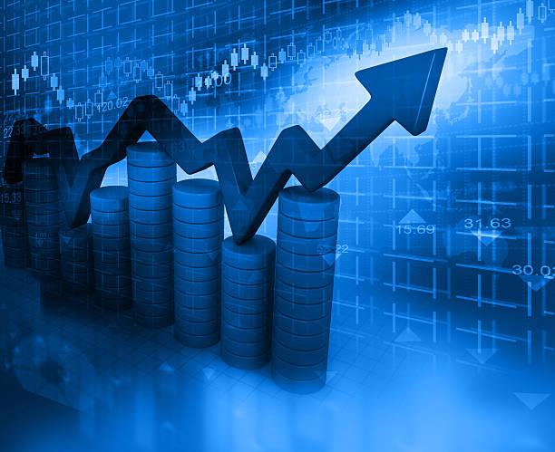 business-diagramm  - inflation stock-fotos und bilder