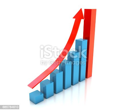 istock Business Graph 685784610