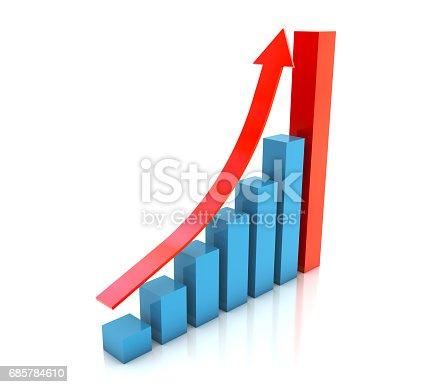93070459 istock photo Business Graph 685784610