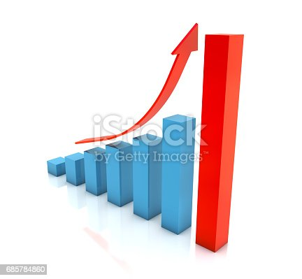 istock Business Graph 685784860