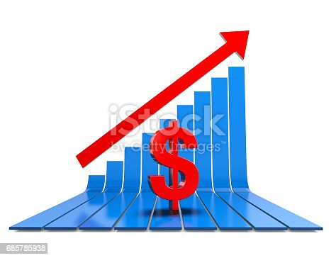 istock Business Graph 685785938