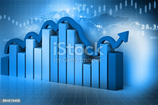 istock Business graph 894919456