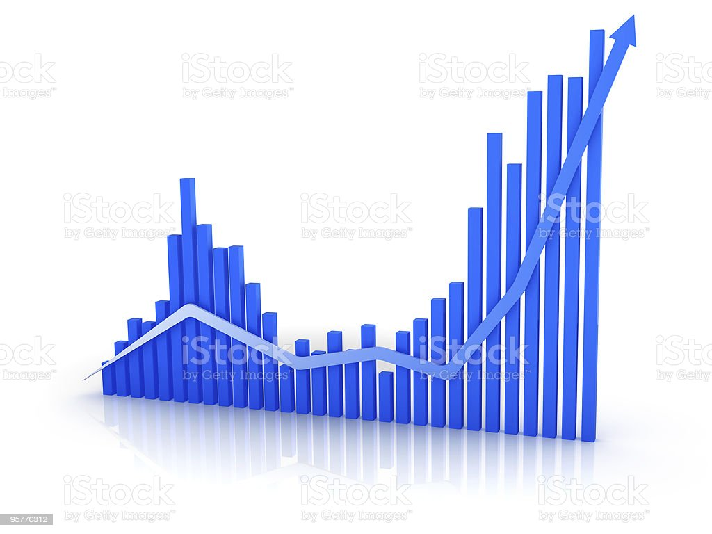 Business Graph royalty-free stock photo