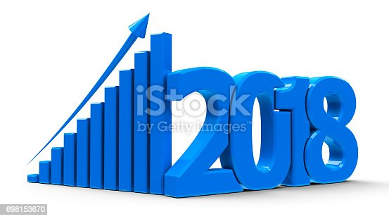 istock Business graph up 2018 #2 698153670