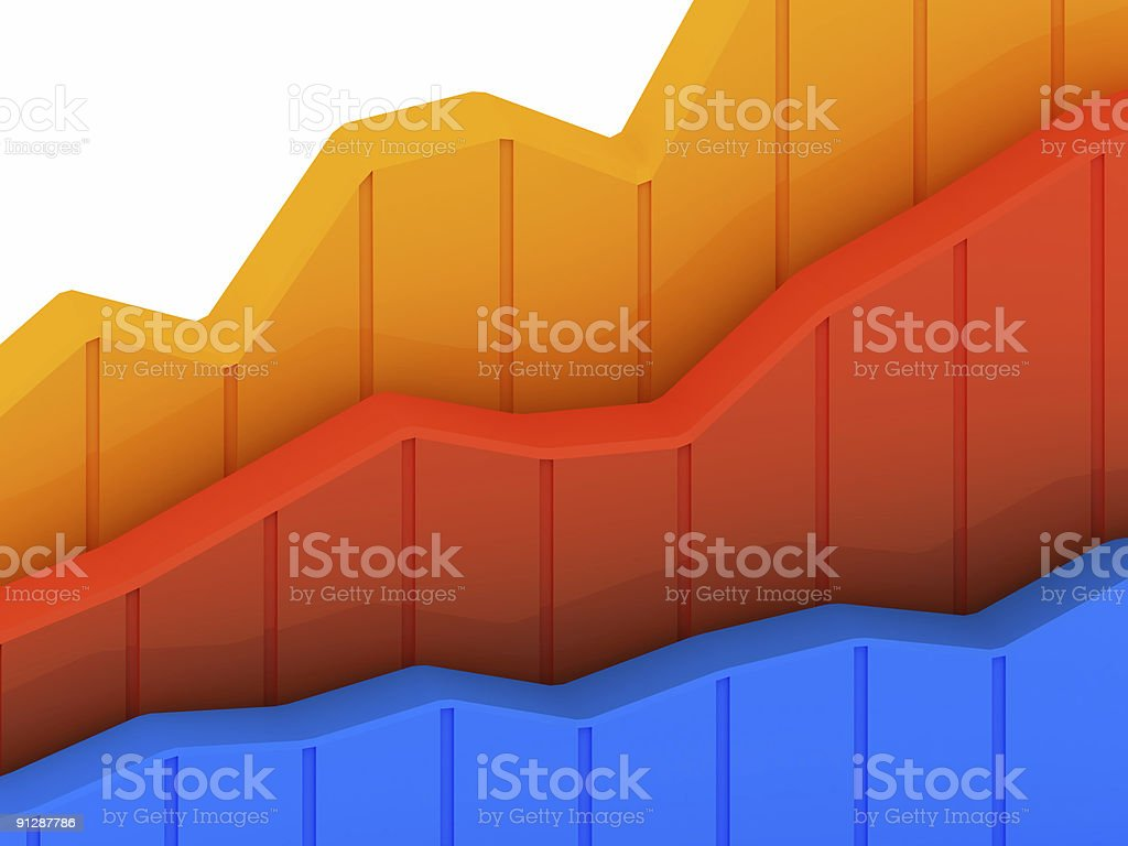 Business Graph v19 stock photo