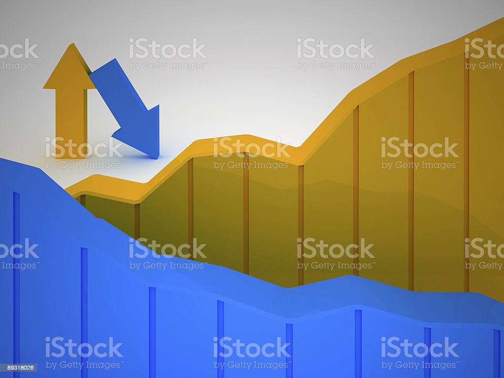 Business Graph v21 royalty-free stock photo