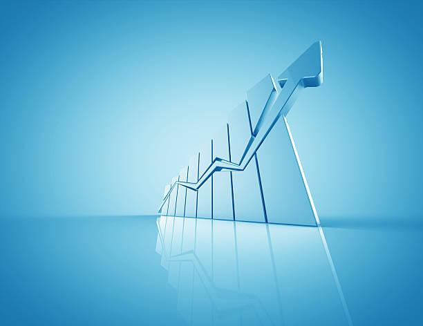 business-diagramm - messlatte stock-fotos und bilder
