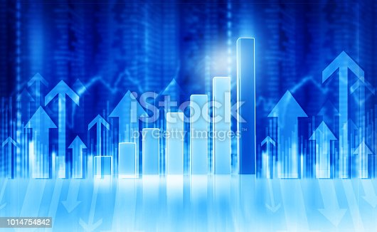 1014755036 istock photo Business graphs and diagrams 1014754842