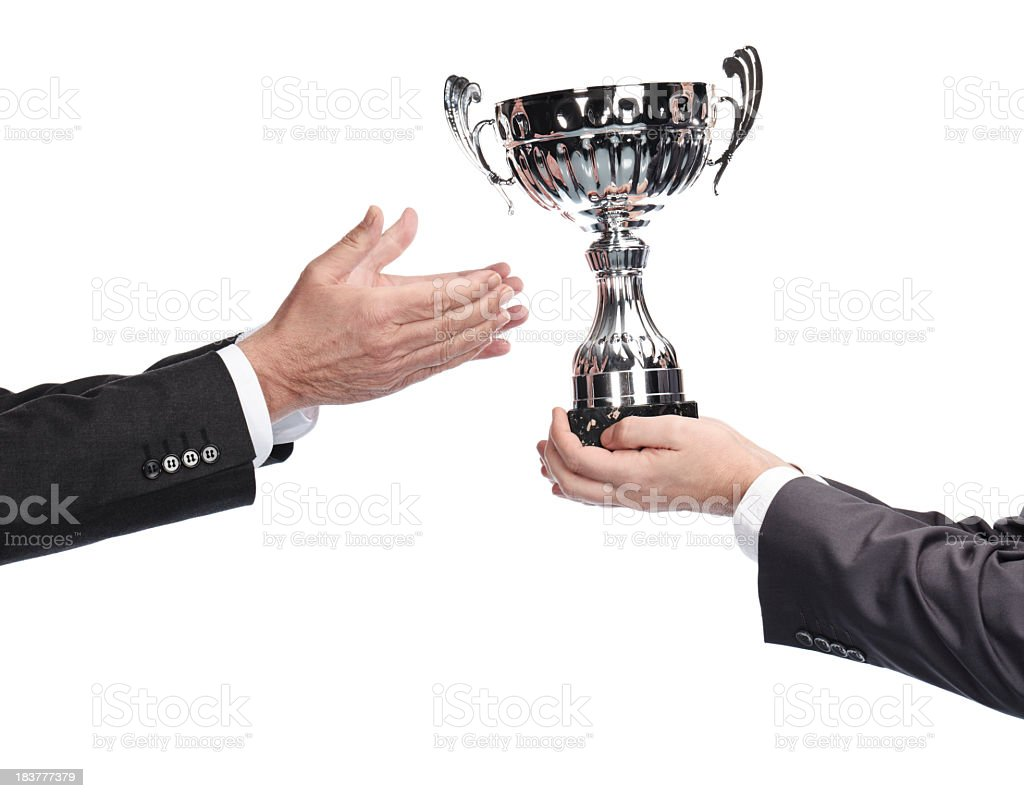 business gratitude stock photo