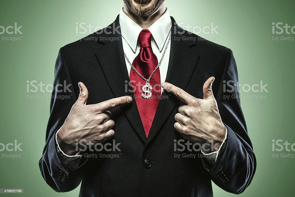 Business Greed stock photo