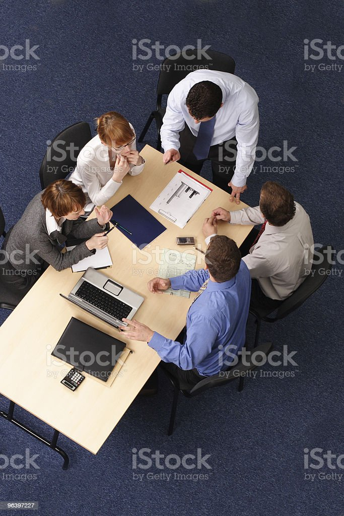business group coaching - Royalty-free Administrator Stock Photo