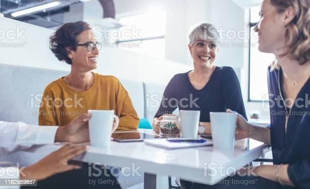 Business group during coffee break picture id1162959857?b=1&k=6&m=1162959857&s=612x612&h=tel2zh4ahhh1zpkcgroqyy xlh6vpqqkk v lp40zwc=