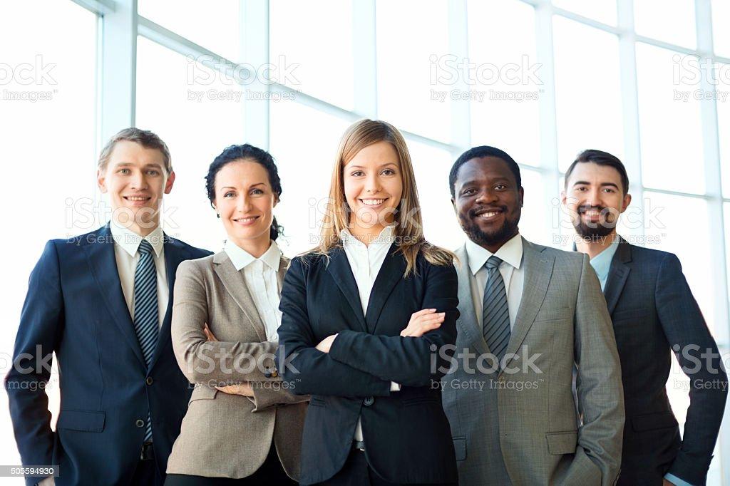 Grupo de negocios - foto de stock