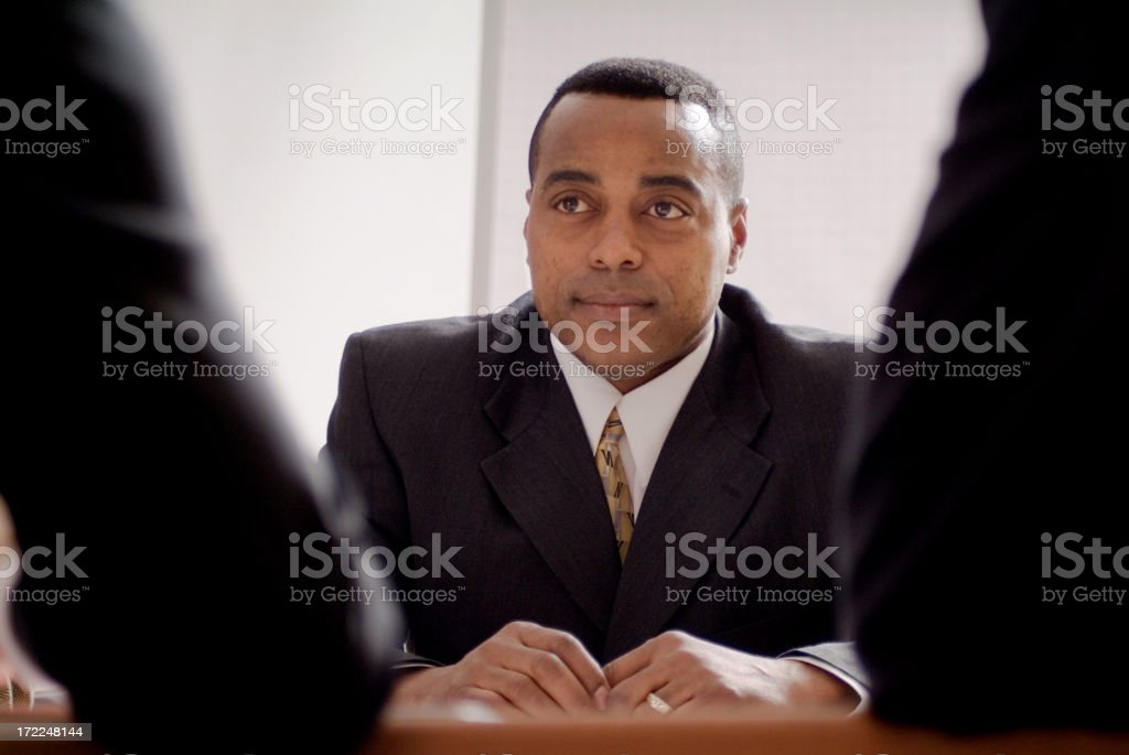 Business Group Series royalty-free stock photo