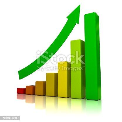 831745600istockphoto Business growth - 3D illustration 535814357