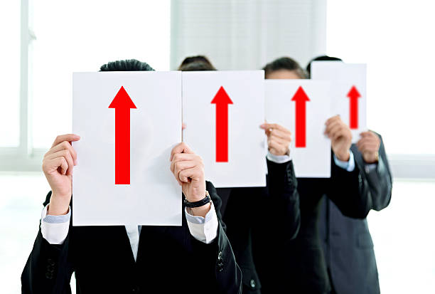 Business growth concept stock photo