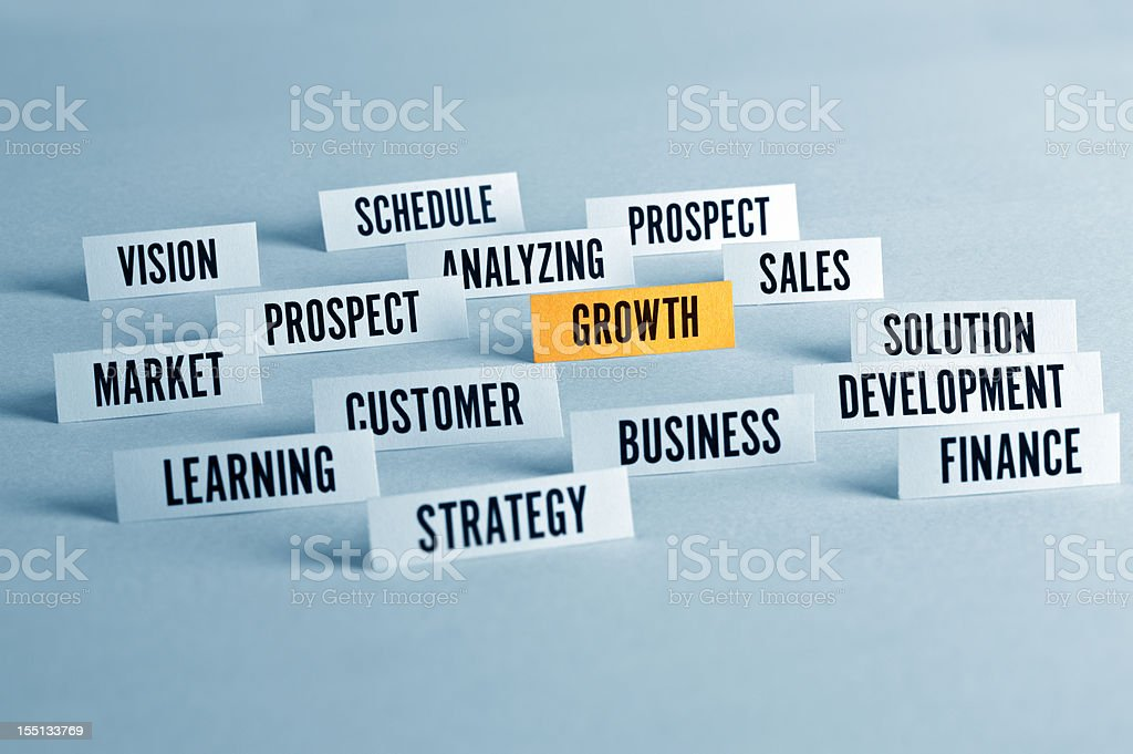 Business Growth Concpet royalty-free stock photo