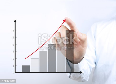 istock Business growth graph 476574754