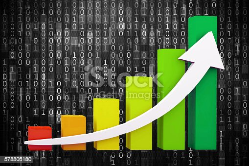 istock Business growth graph 578805180