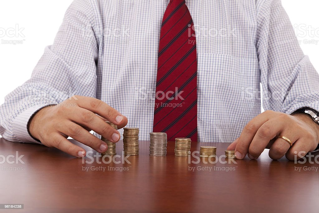 Crescita del Business foto stock royalty-free