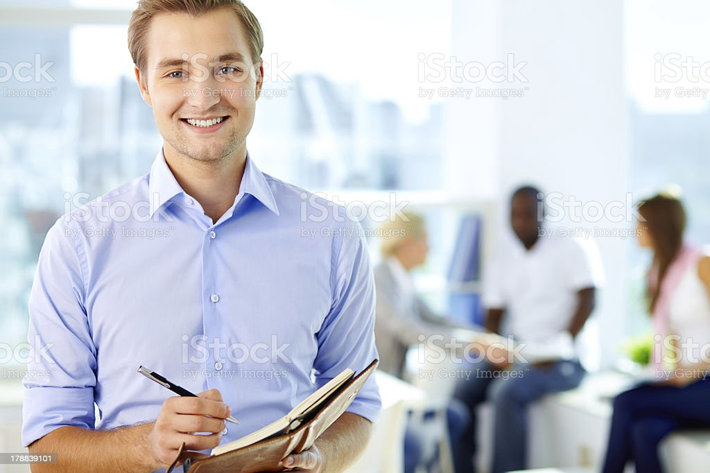 Business guy stock photo