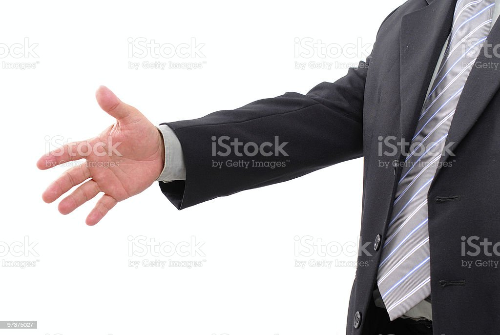 Business Hand royalty-free stock photo