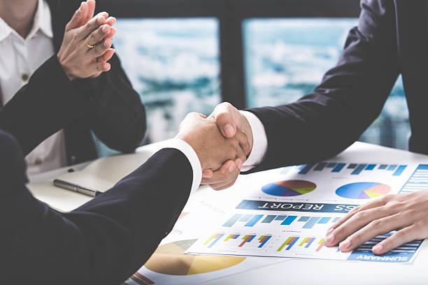 business handshake und business Personen – Foto
