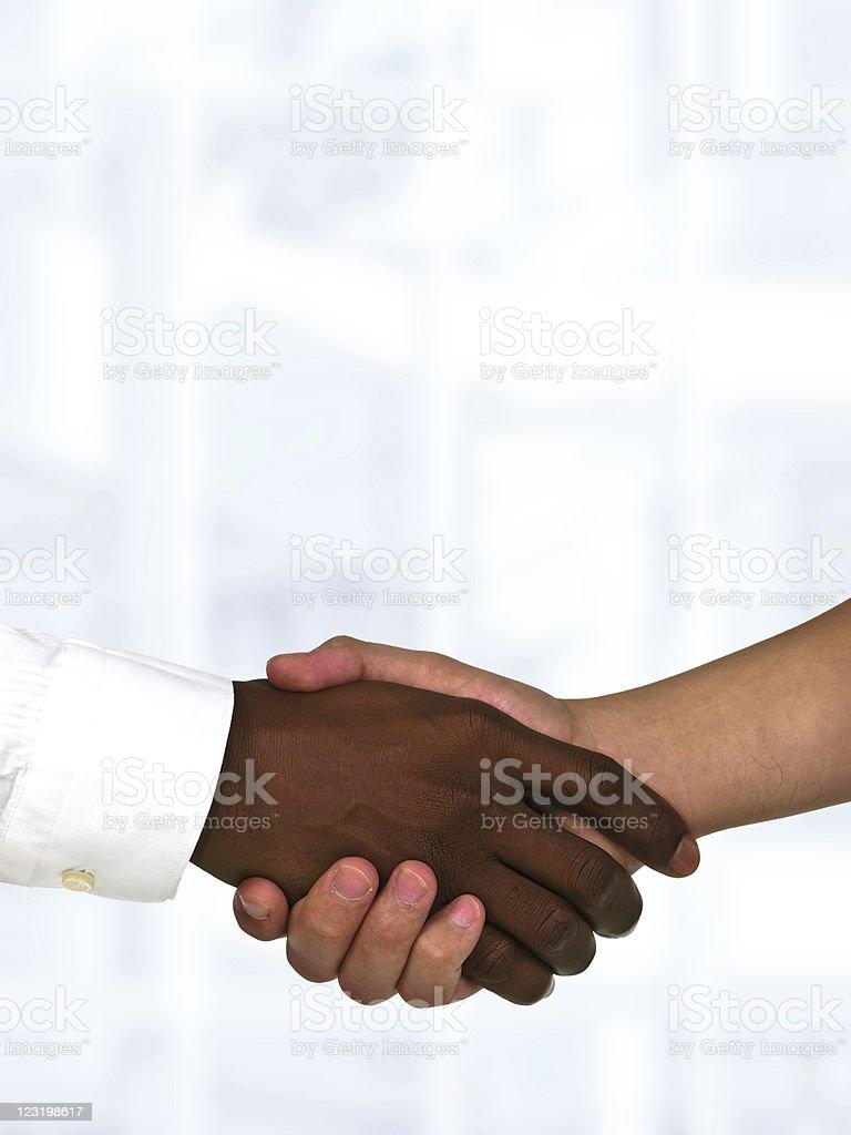 Business handshake – Foto