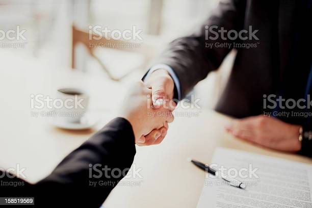 Business Handshake Stock Photo - Download Image Now