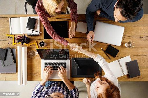 istock Business handshake 520544012