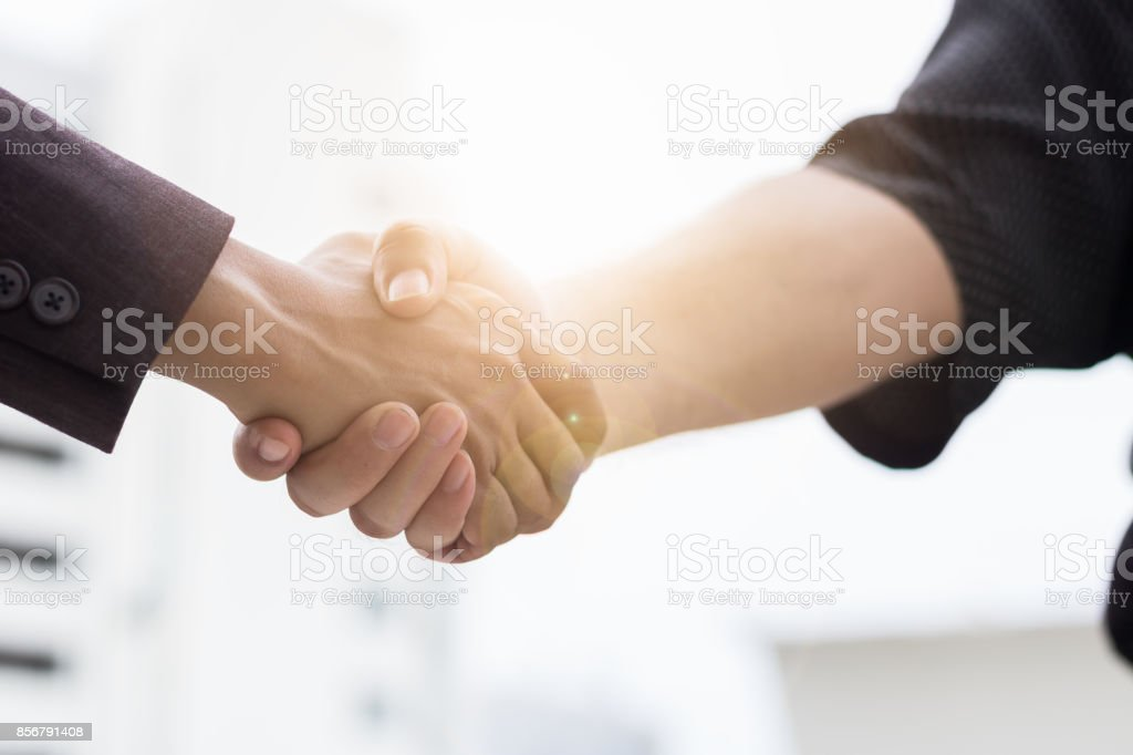 Business handshake – Foto