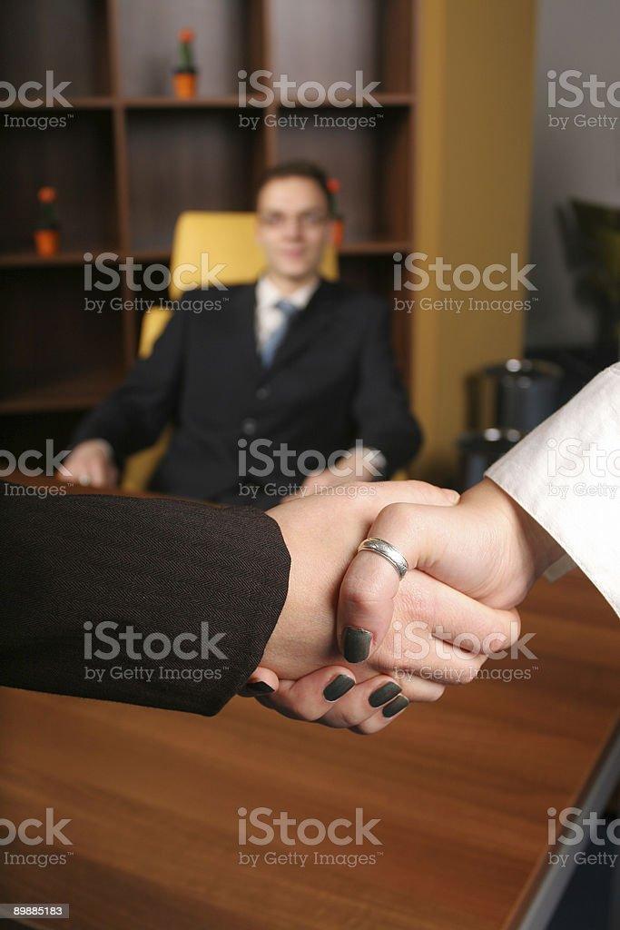 Business handshake Lizenzfreies stock-foto