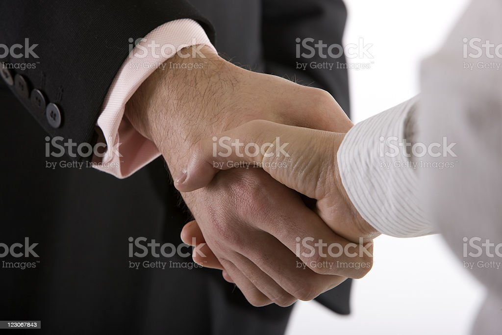 Business Handshake XXL royalty-free stock photo